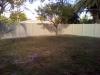 Tan Vinyl Fence