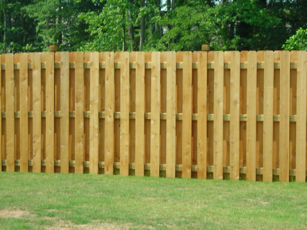 Are you interested in a Shadow Box Wood Fence?