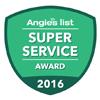 AngiesList 2016 Super Service Winner