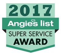 AngiesList 2017 Super Service Winner
